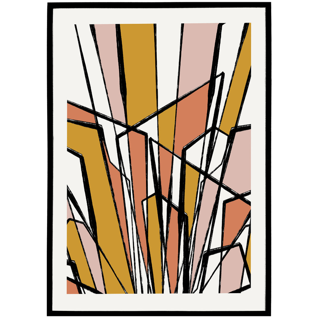 Art Deco Drawing Print - Shop posters, Art prints, Laptop Sleeves, Phone case and more Online!