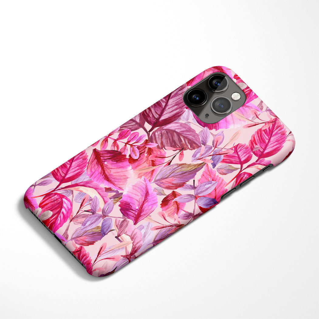 Pink Floral iPhone Case 2