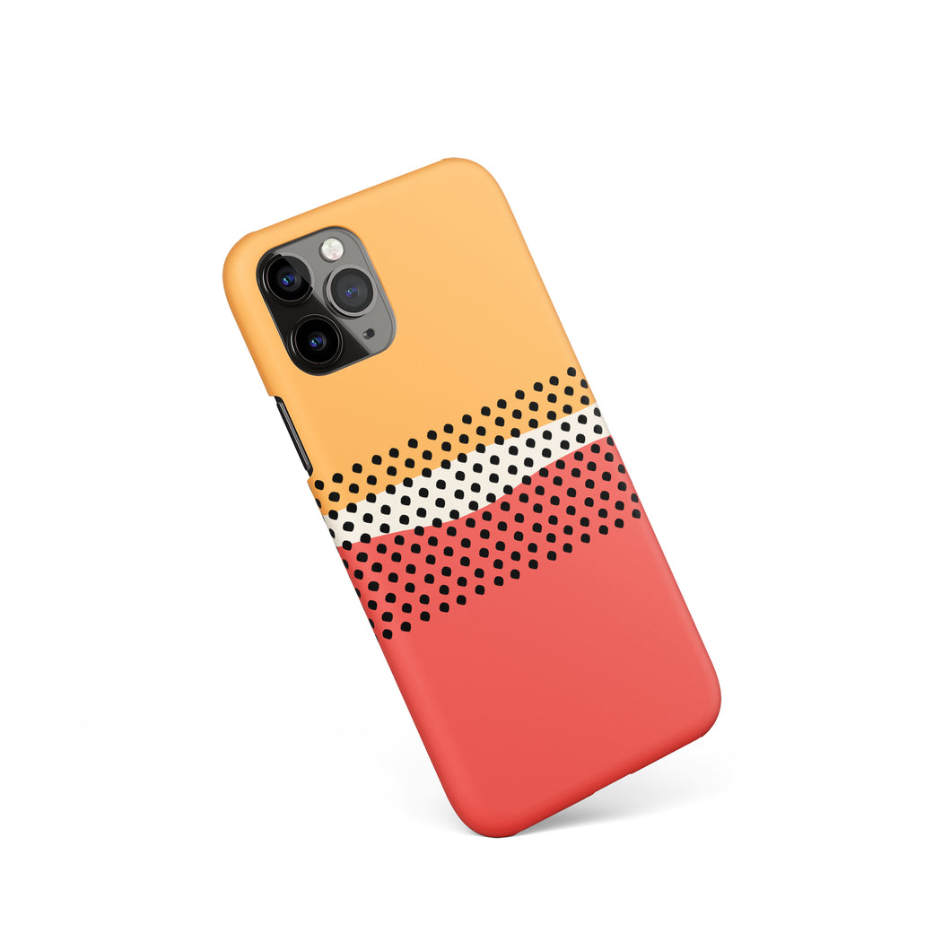 Abstract Retro iPhone Case 2