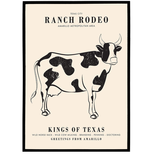 Ranch Rodeo Poster