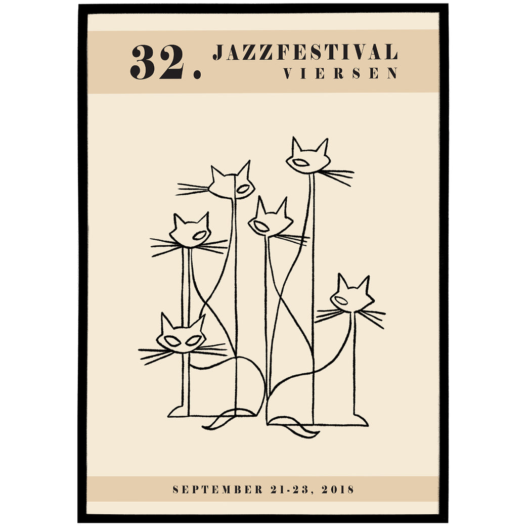 Viersen Jazz Festival Poster - Shop posters, Art prints, Laptop Sleeves, Phone case and more Online!