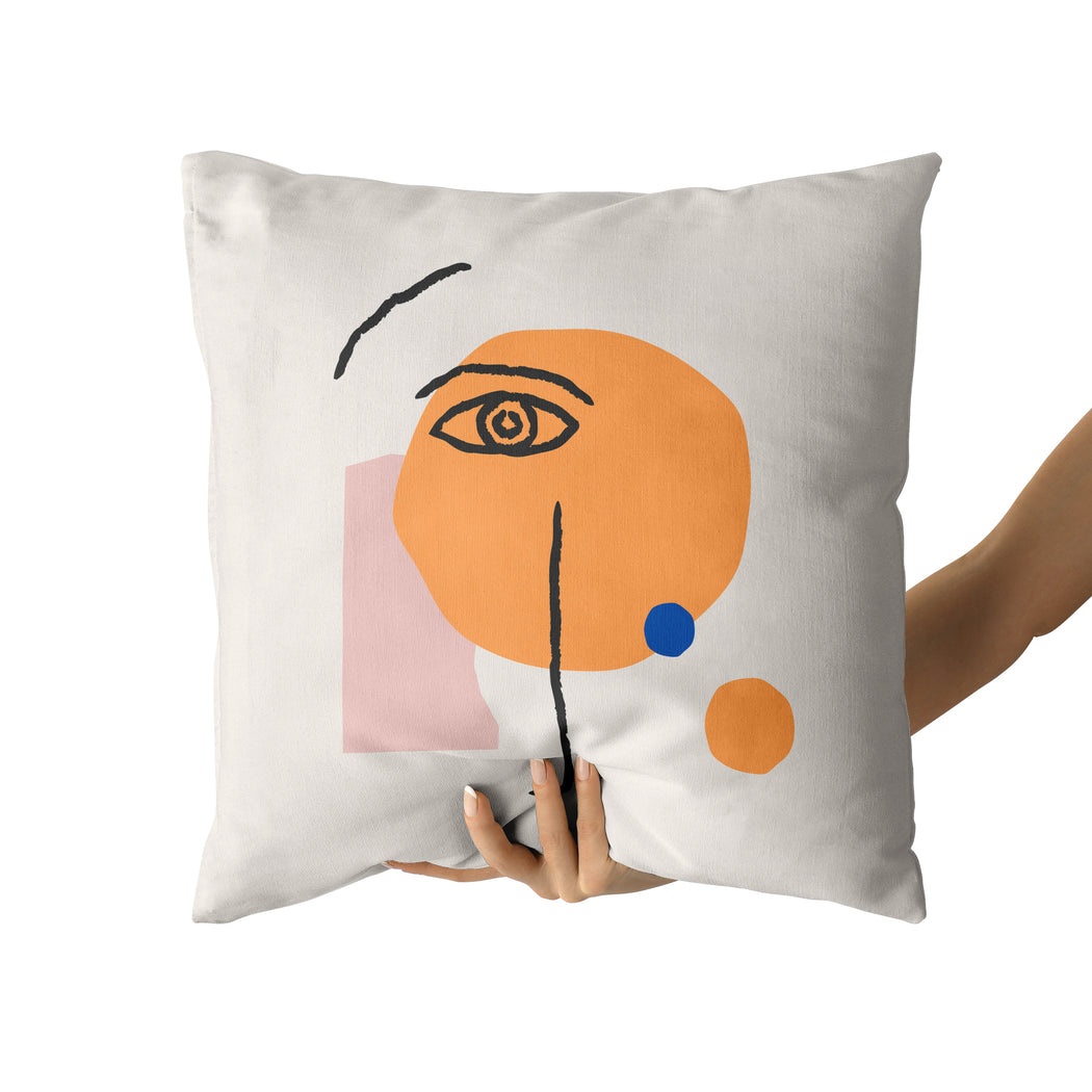Picasso Inspired Pillow