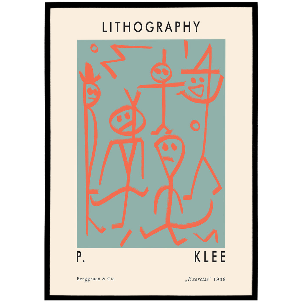 Paul Klee Exhibition Poster