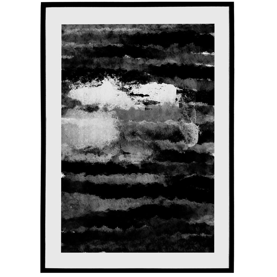 Black And White Abstract Print - Shop posters, Art prints, Laptop Sleeves, Phone case and more Online!