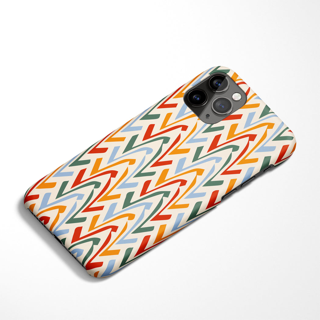 Colorful Shapes iPhone Case