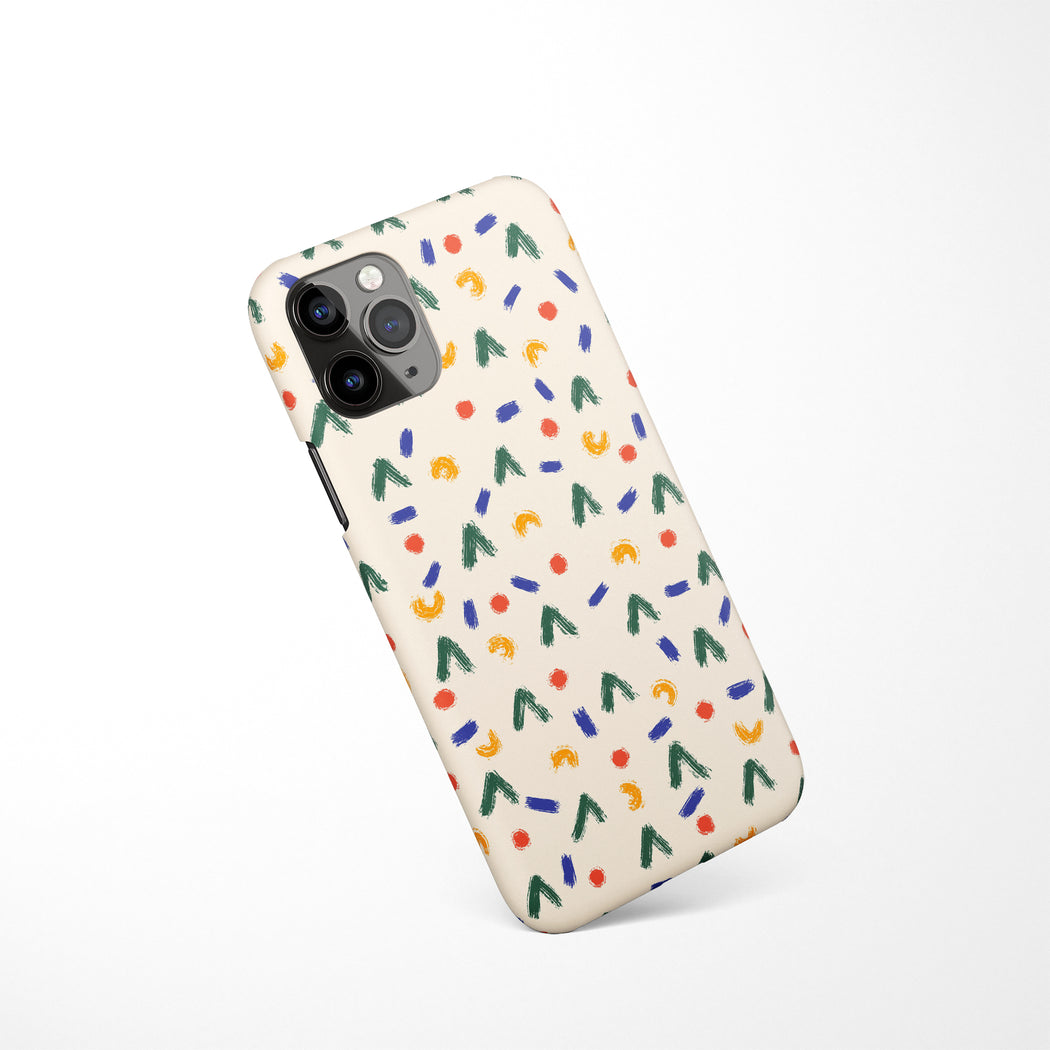 Retro Pattern iPhone Case 3