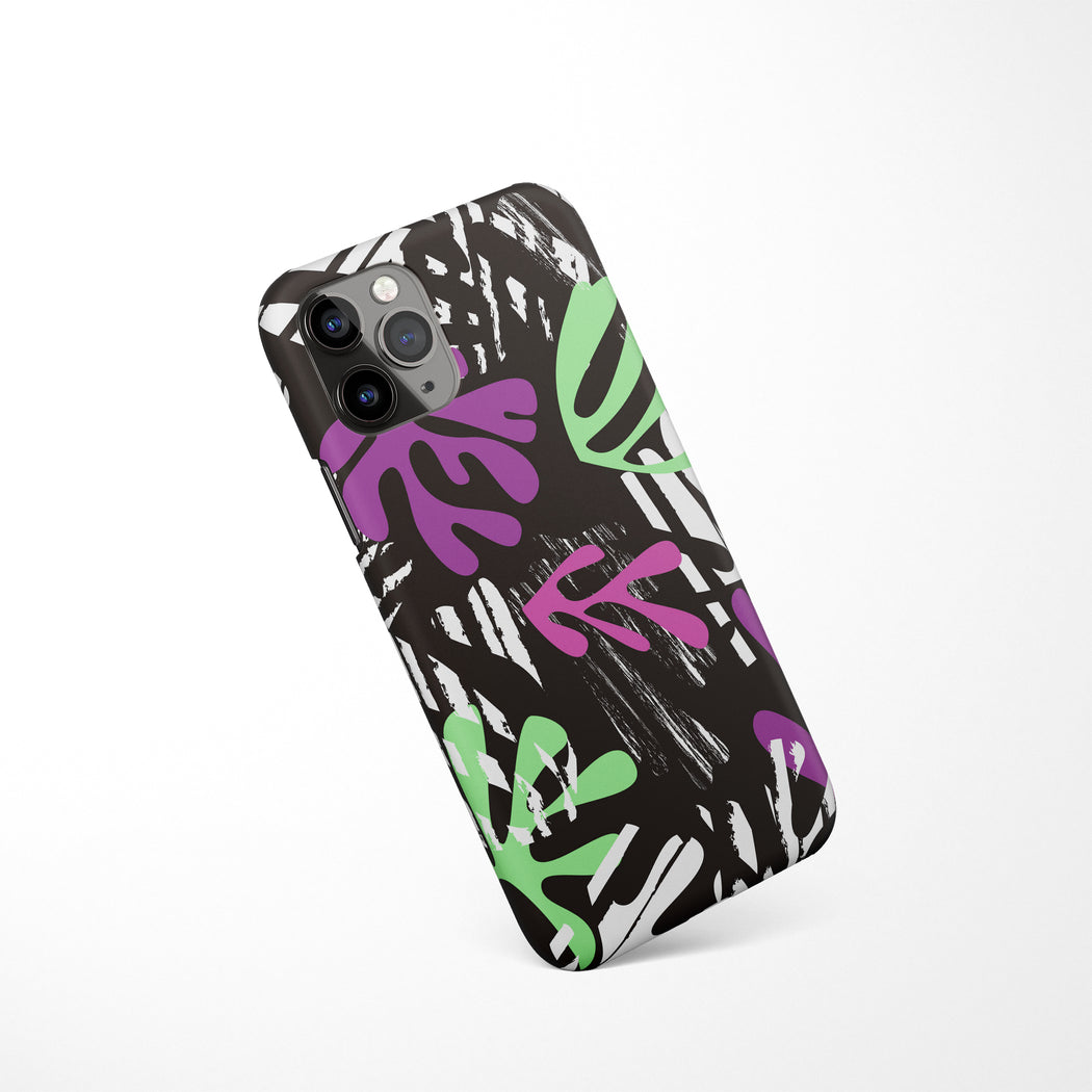 Floral Sketch iPhone Case
