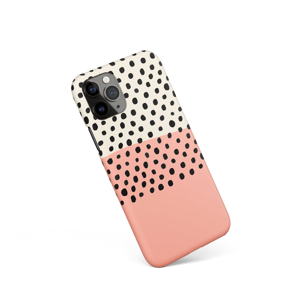 Abstract Dots iPhone Case 3
