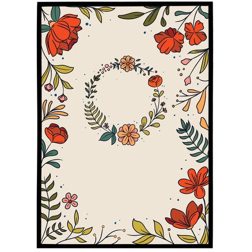 Cute Floral Poster