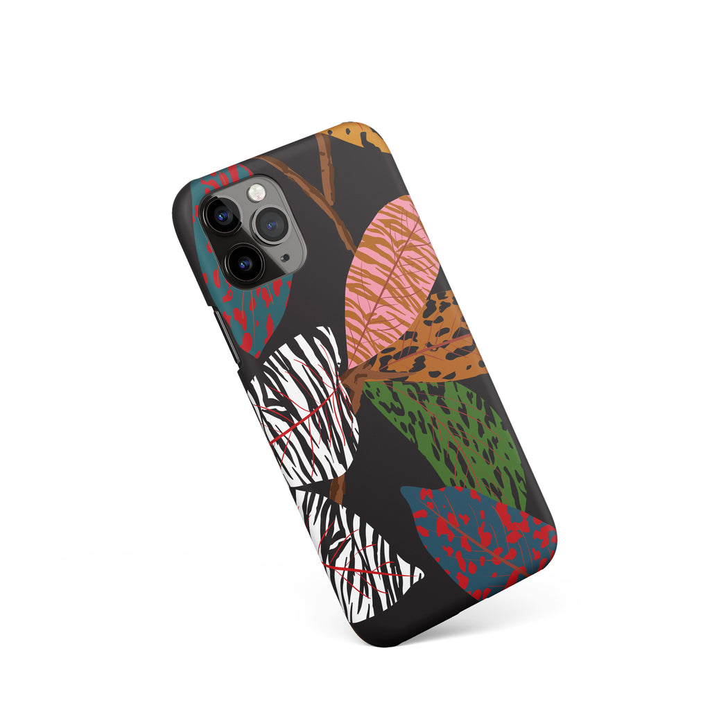 iPhone Case with Floral Art Print