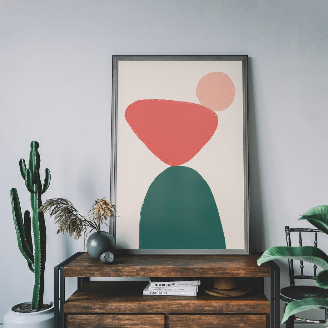 Solid Shapes Print - Shop posters, Art prints, Laptop Sleeves, Phone case and more Online!