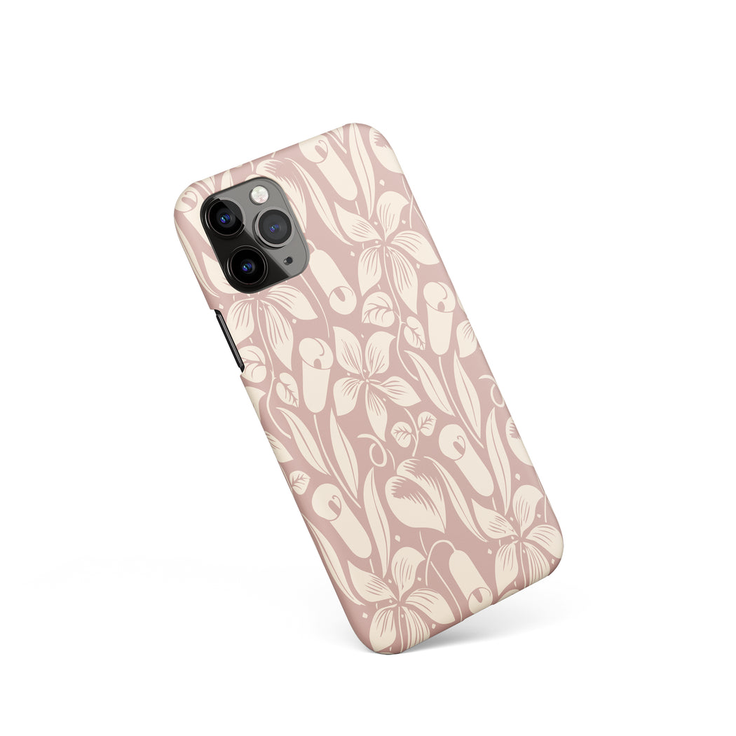 Pastel Flowers iPhone Case