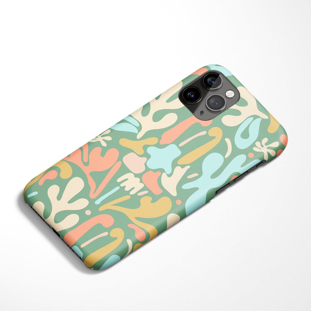 Retro Flowers iPhone Case
