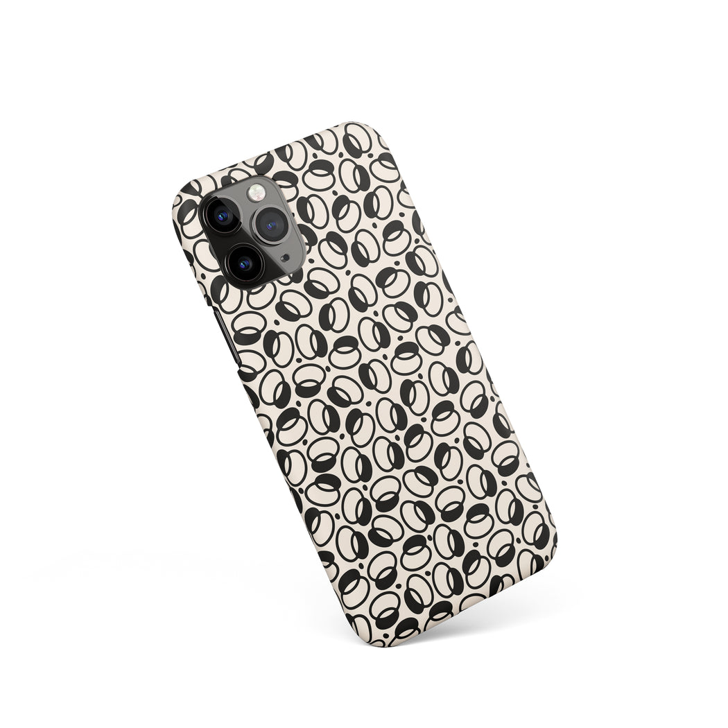 iPhone Case with Abstract Pattern