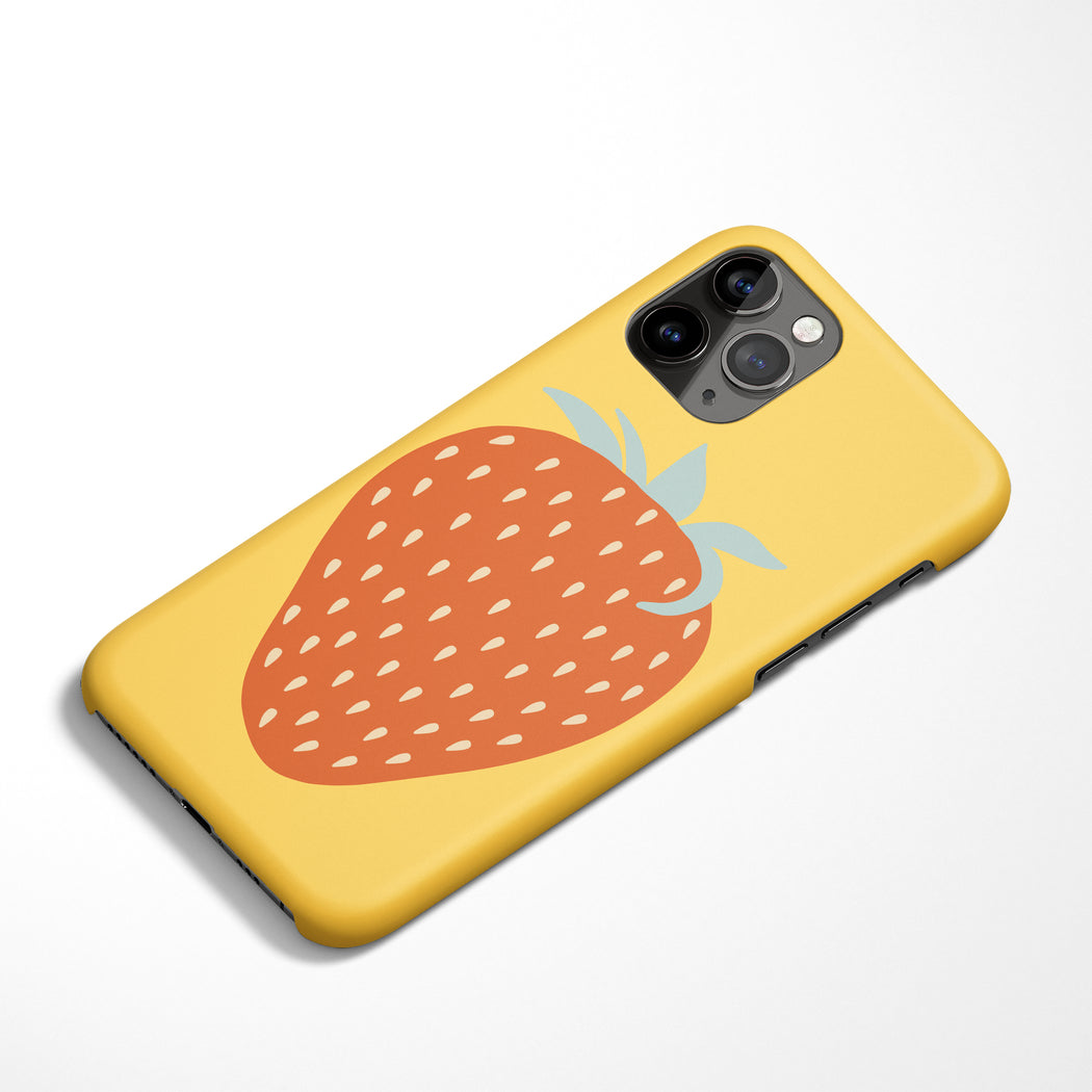 Retro Strawberry iPhone Case