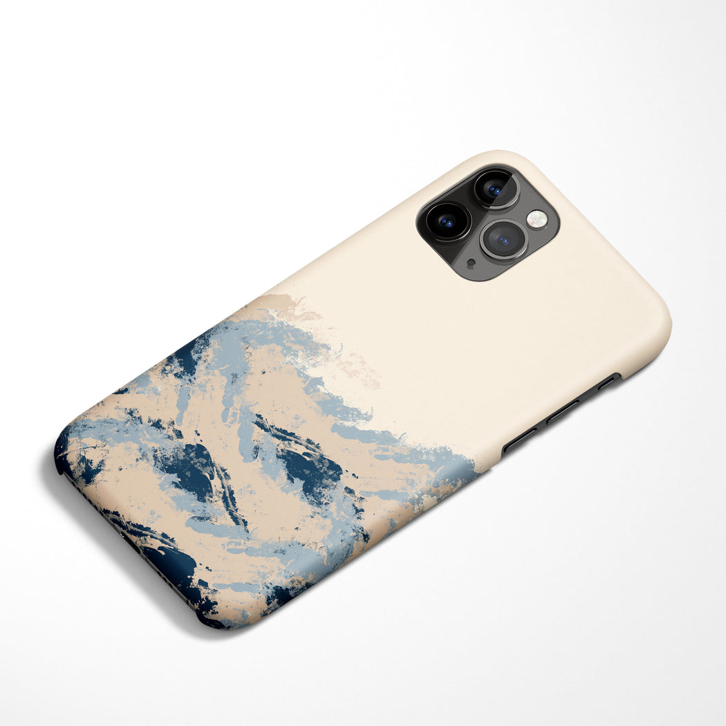 Handdrawn Sea iPhone Case