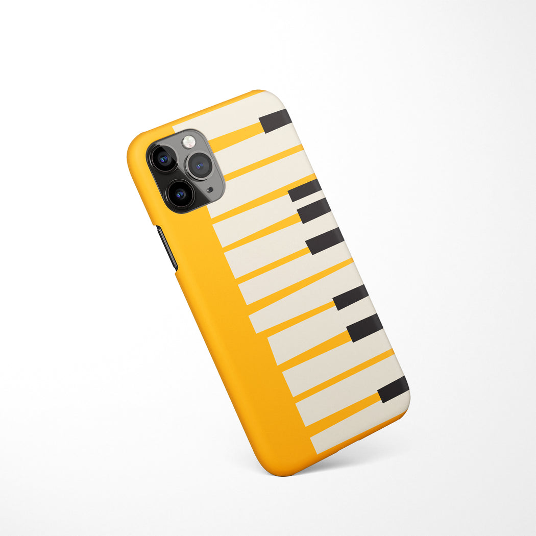 Piano - Yellow iPhone Case