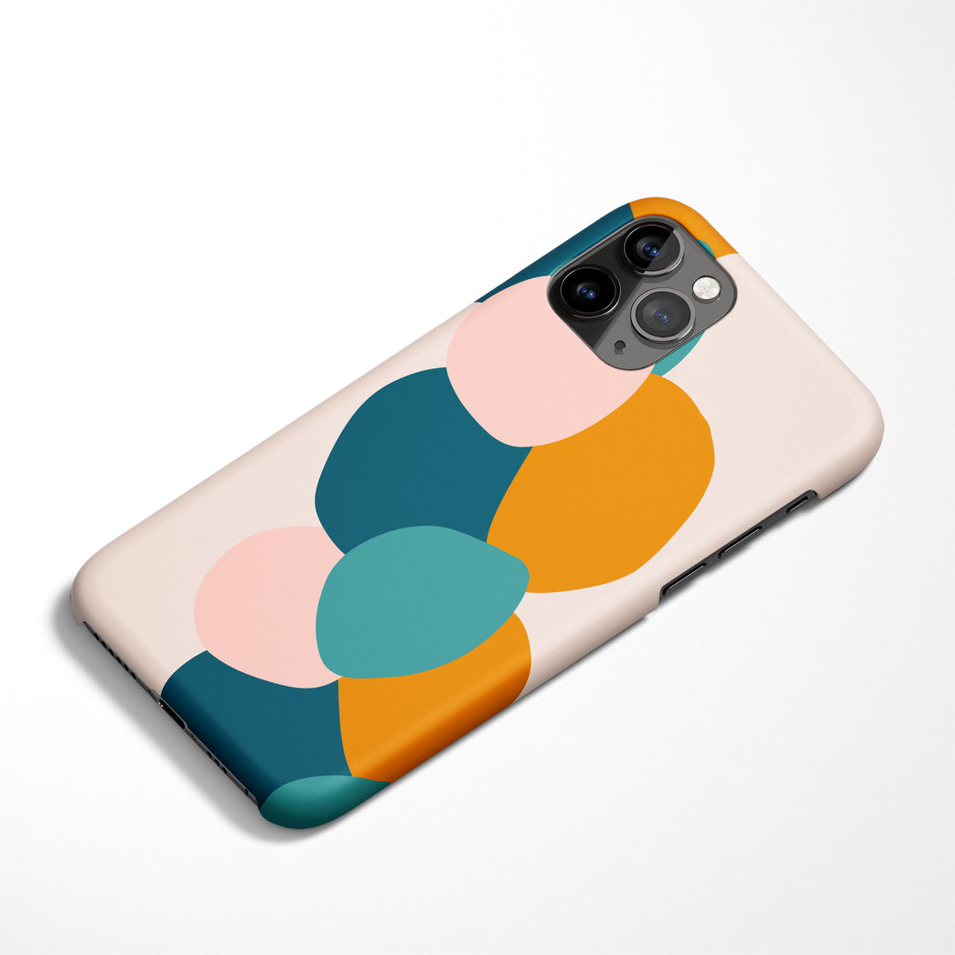 Abstract Shapes iPhone Case