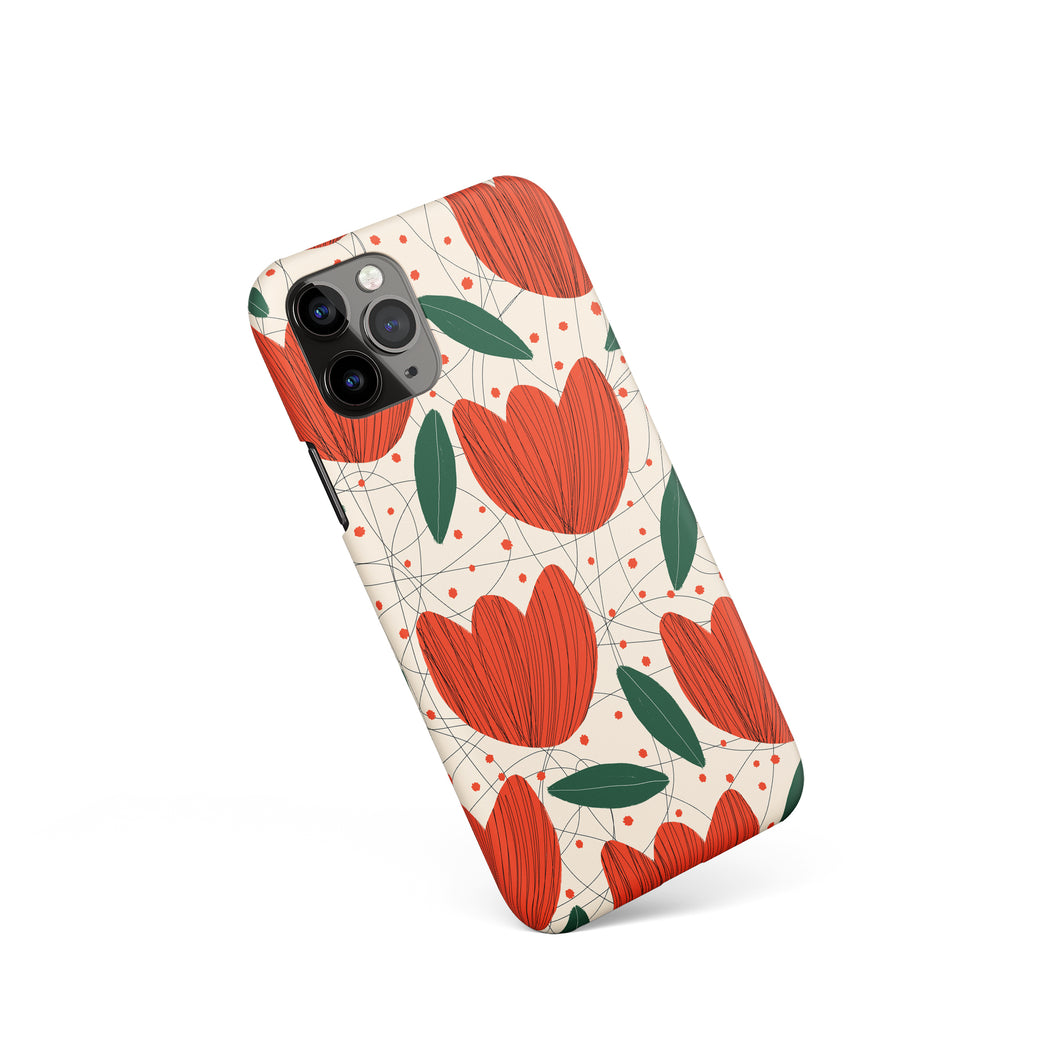 Abstract Handdrawn iPhone Case