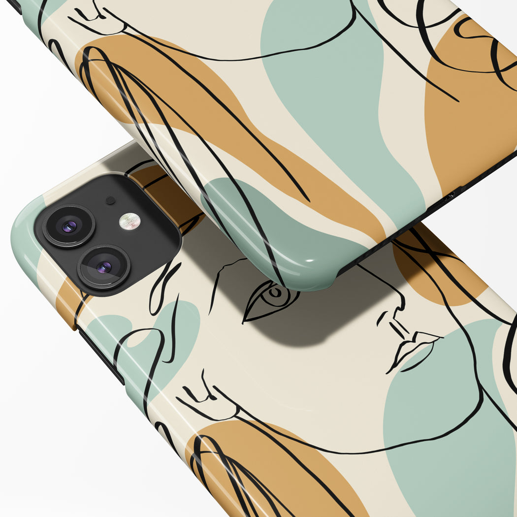 Picasso Drawing iPhone Case 3