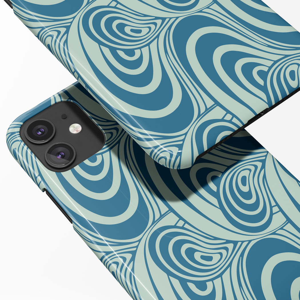 Blue Lagoon iPhone Case