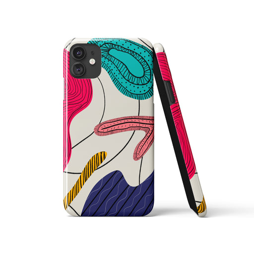 iPhone Case with a drawing