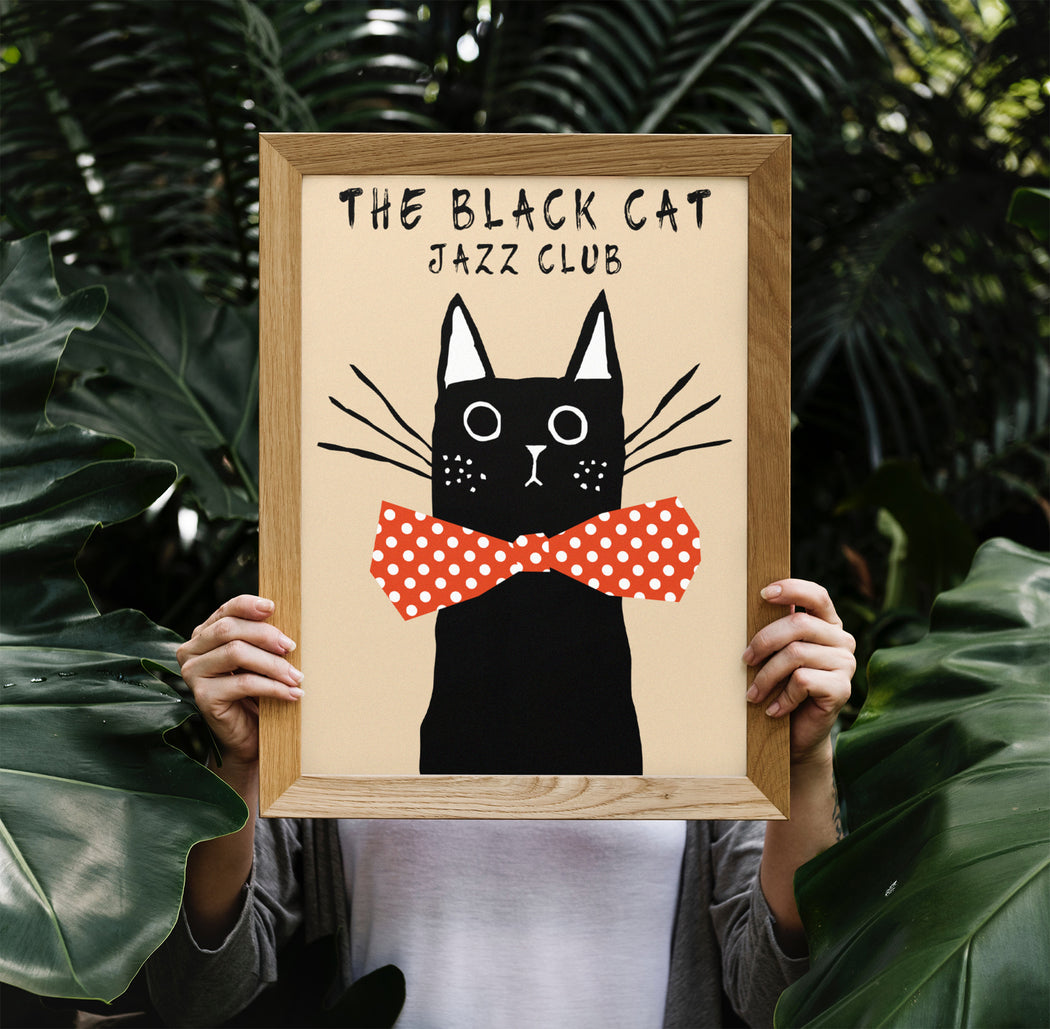 Jazz Poster - The Black Cat