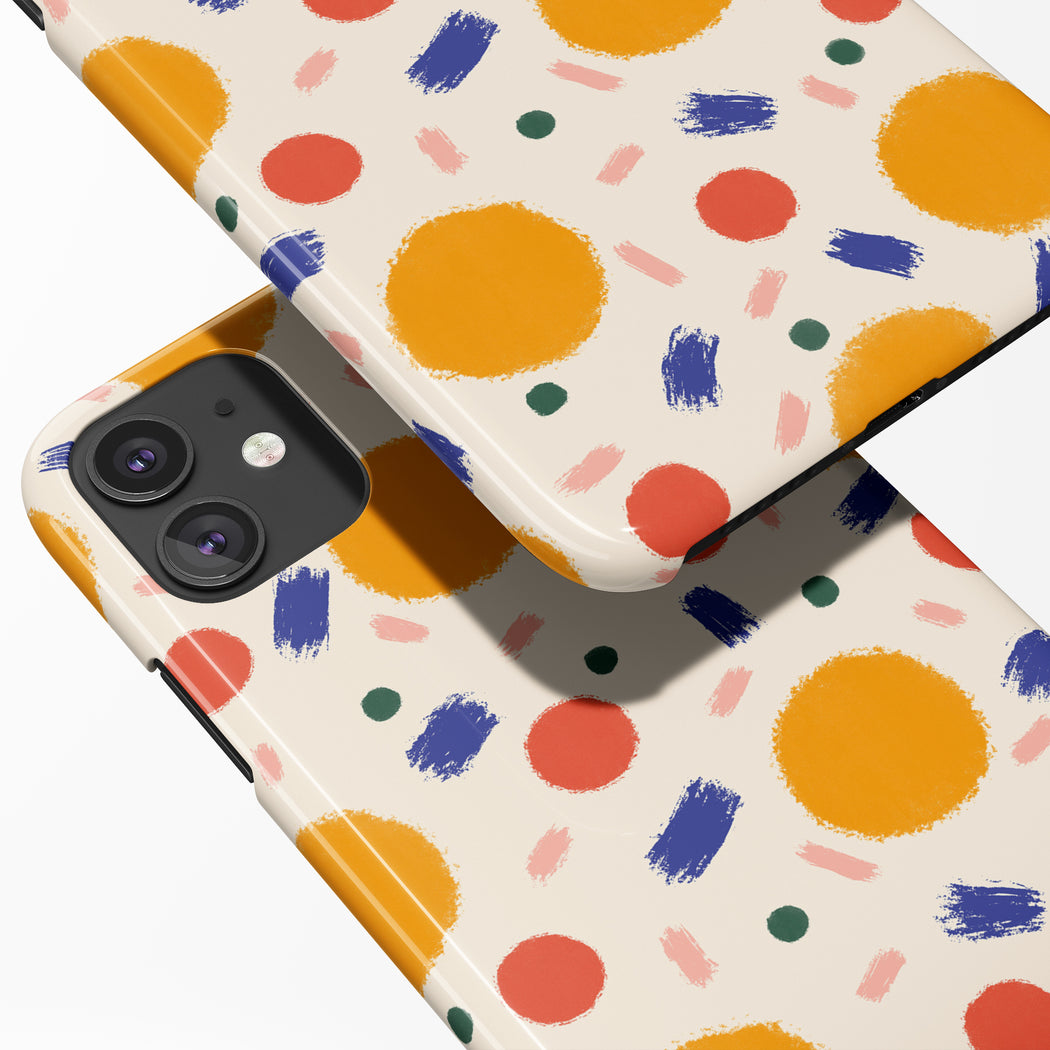 Summer Dots iPhone Case