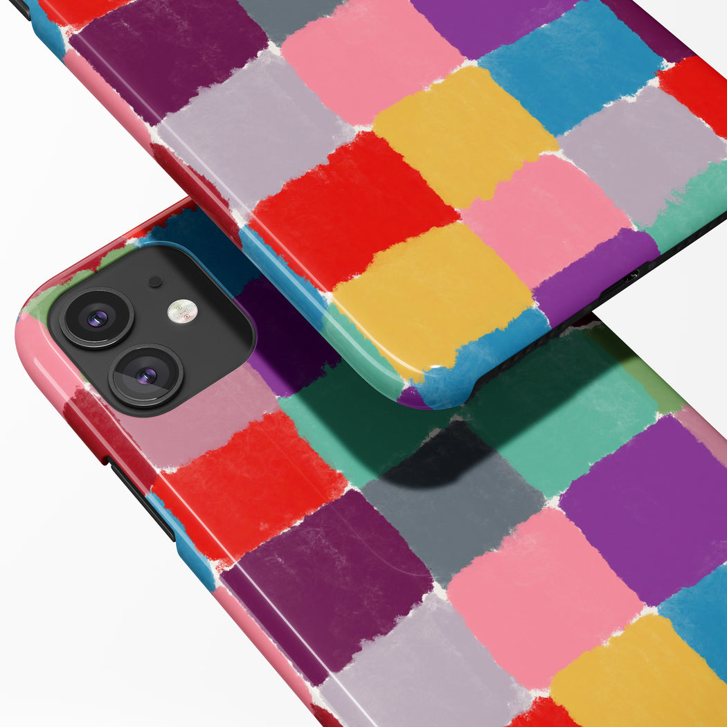 Colorful Abstract iPhone Case 2