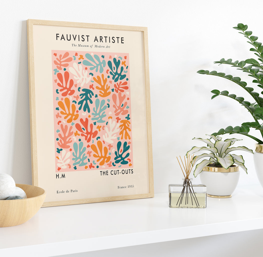 Cute Floral Art Poster