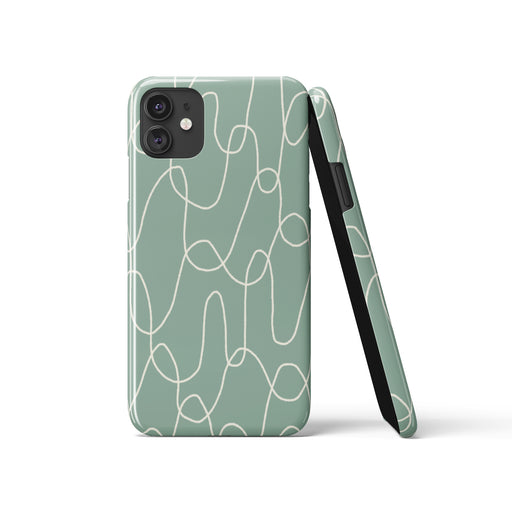 Mint Scandinavian iPhone Case