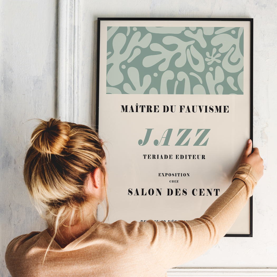French Jazz Art Print