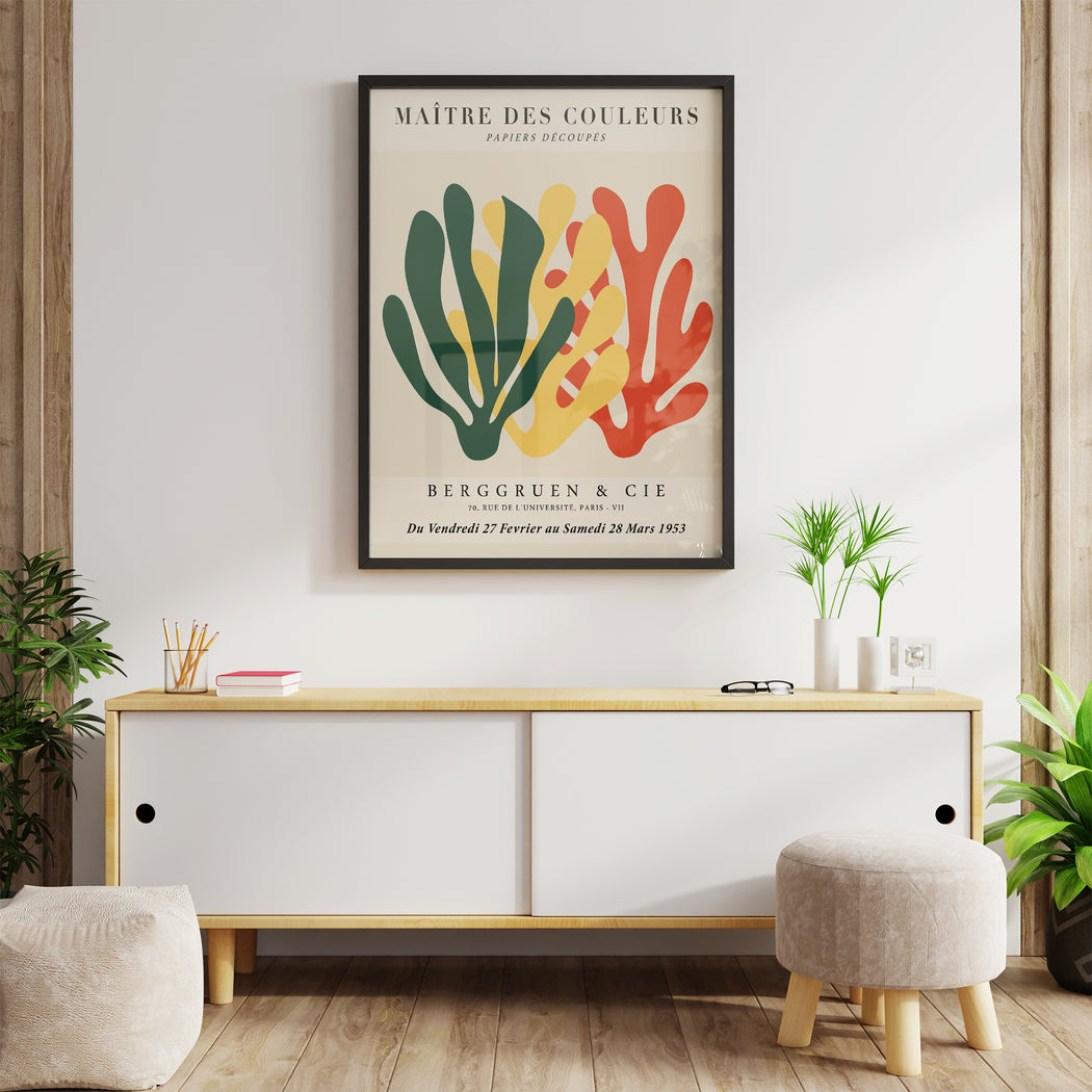 Matisse Inspired Art Print