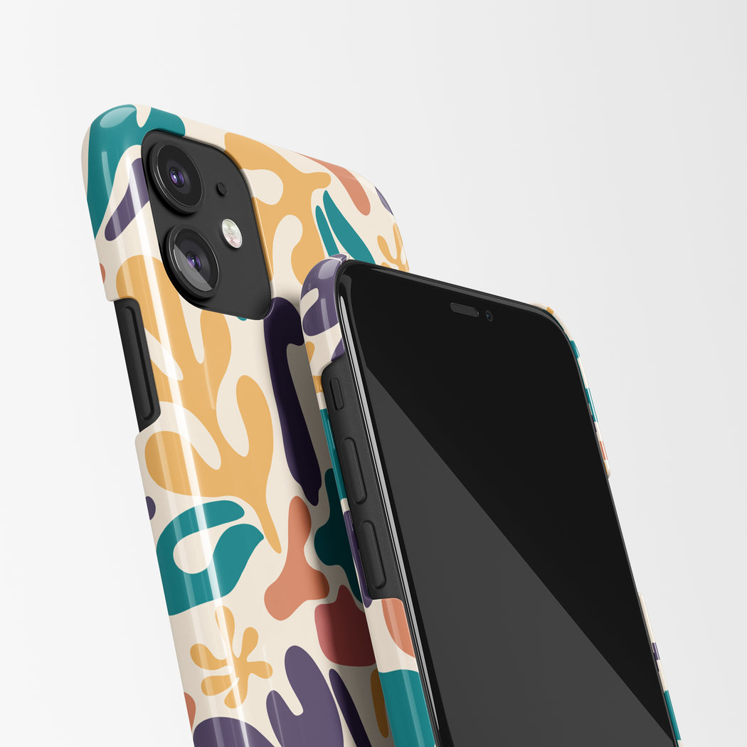 Mid Century Art iPhone Case