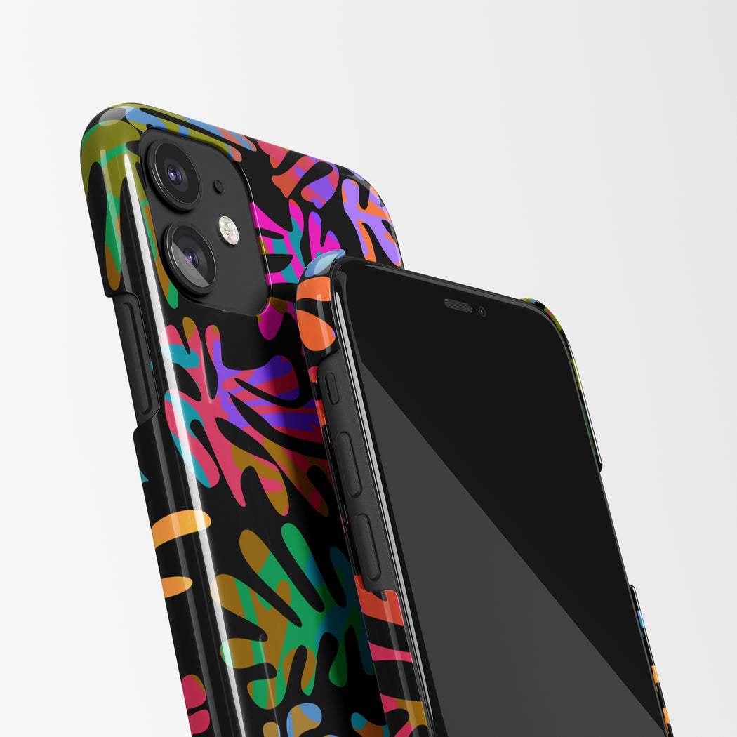 Floral Art Print iPhone Case v2