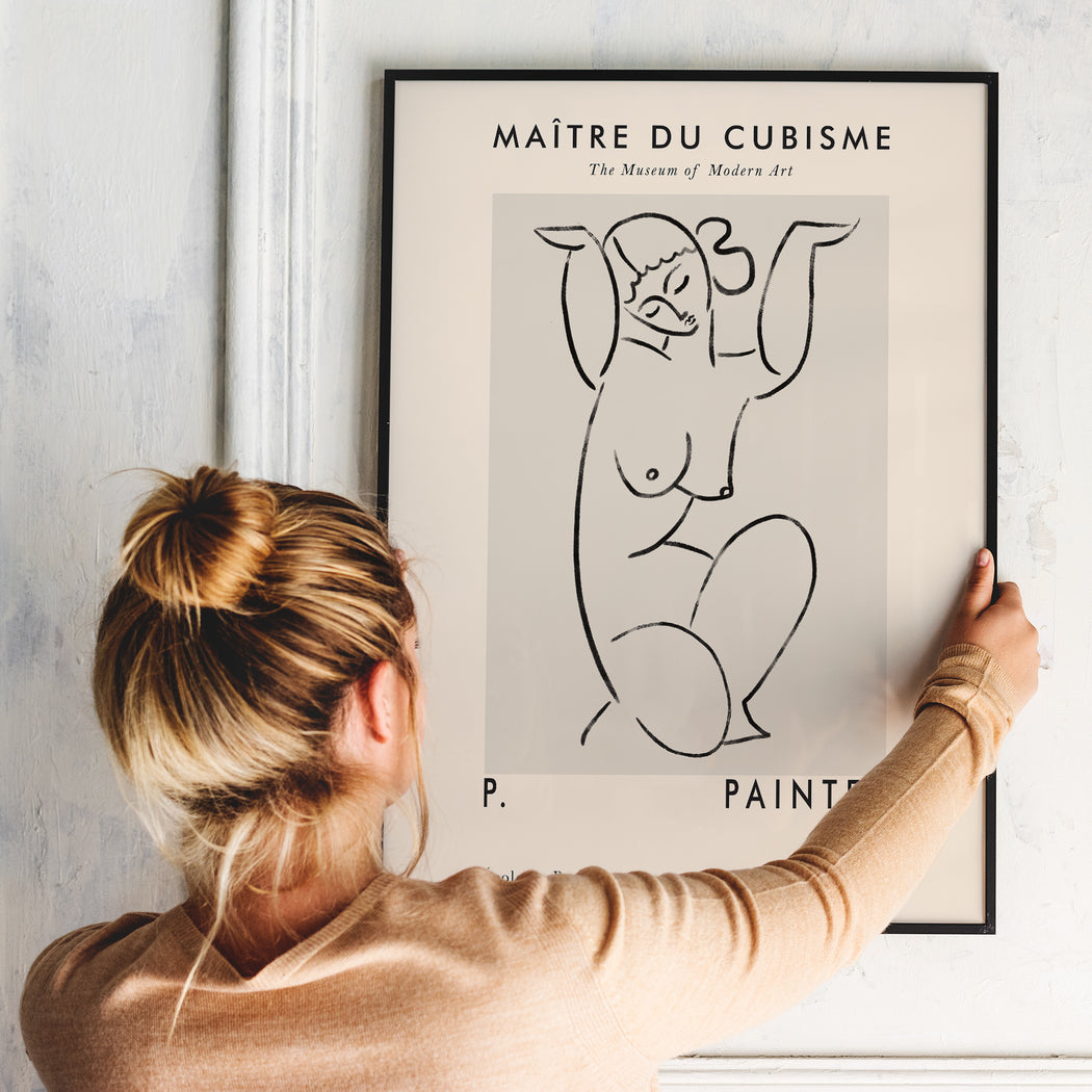 Master of Cubism Art Print