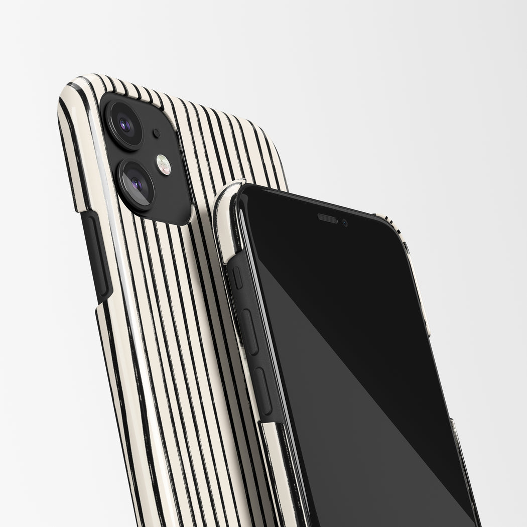 Retro Stripes iPhone Case