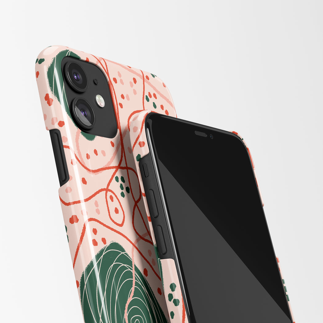 Botanical Design iPhone Case