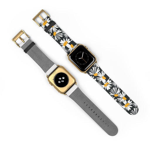 Watch Band with Daisies