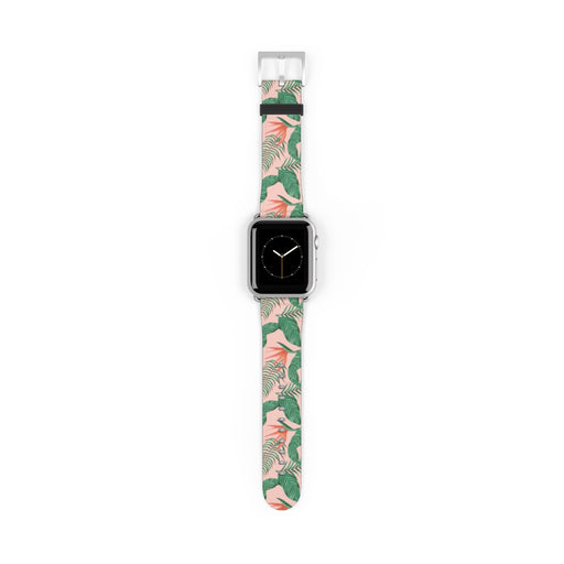 Pink Tropical Watch Band
