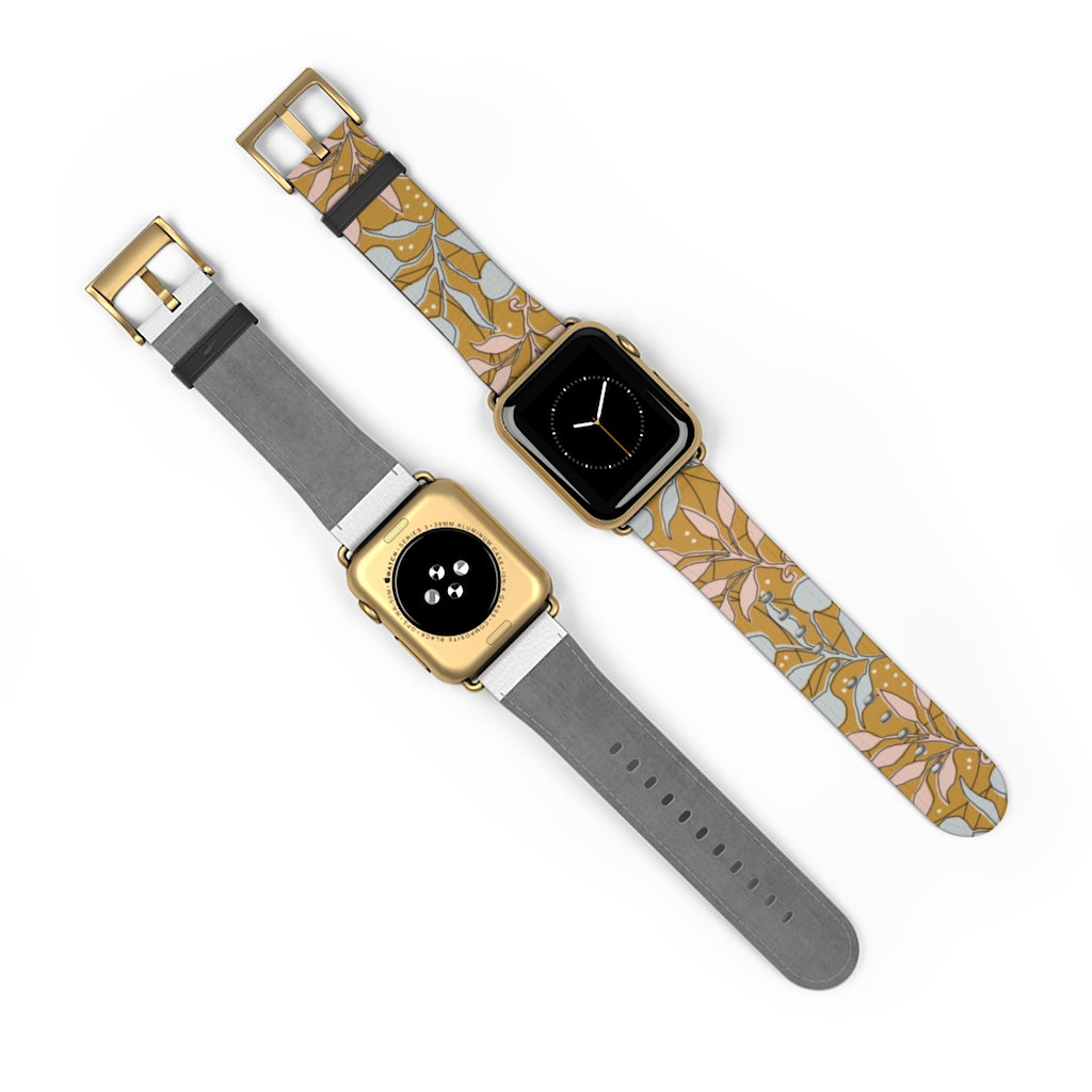 Vintage Flowers Apple Watch Band