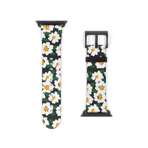 Watch Band with Daisies 2