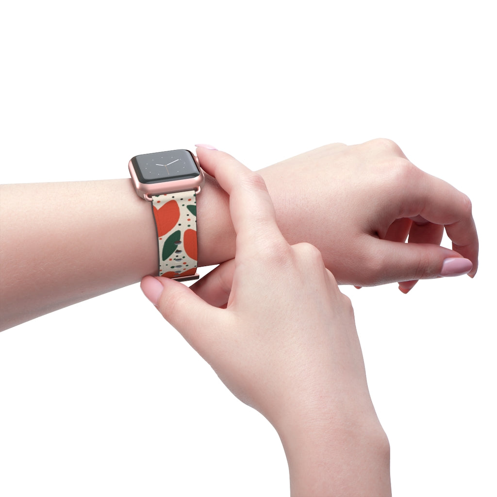 Cute Tulips Apple Watch Band