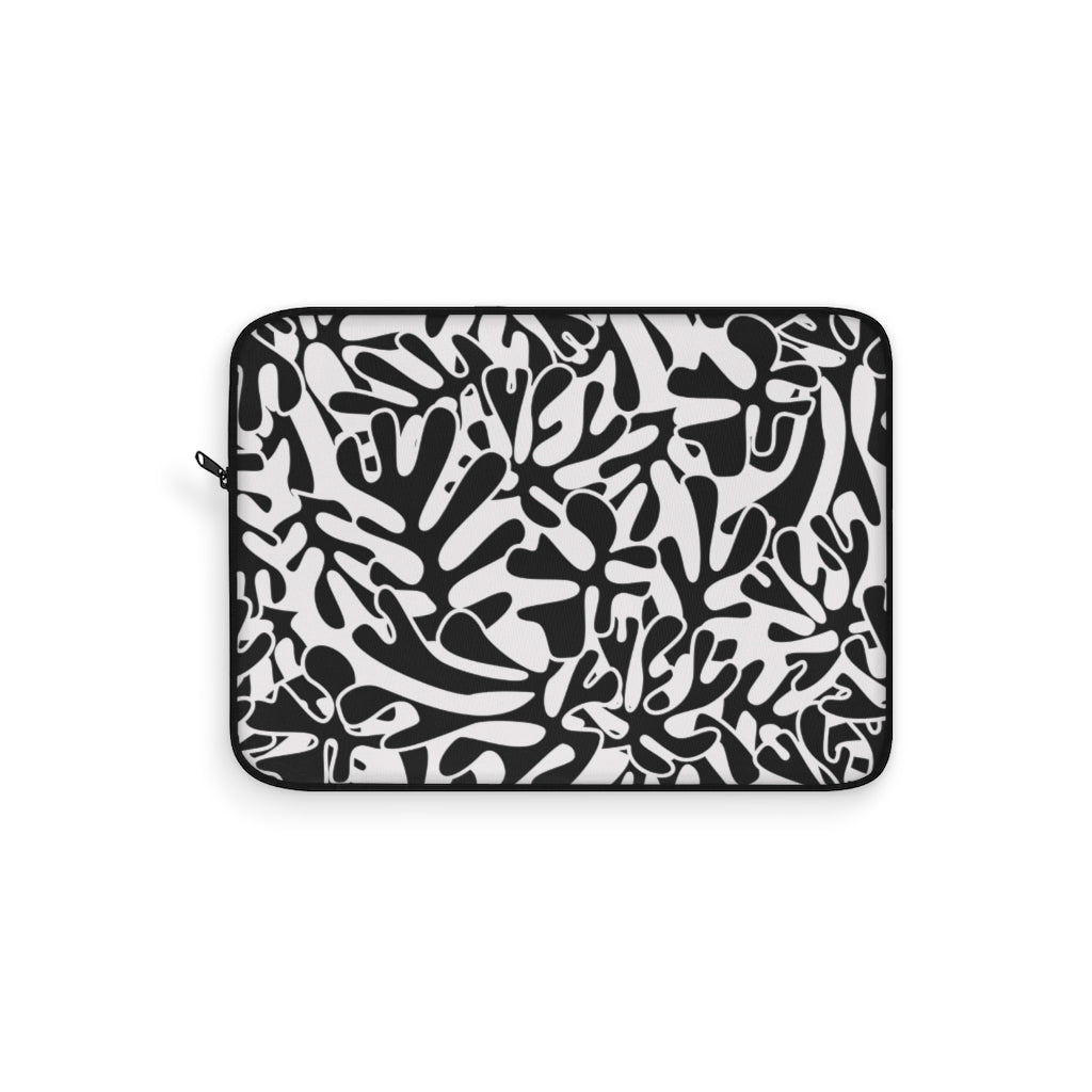 BLACK&WHITE LAPTOP SLEEVE