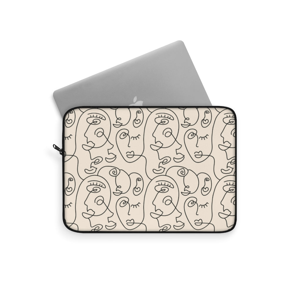 PICASSO FACES V2 LAPTOP SLEEVE