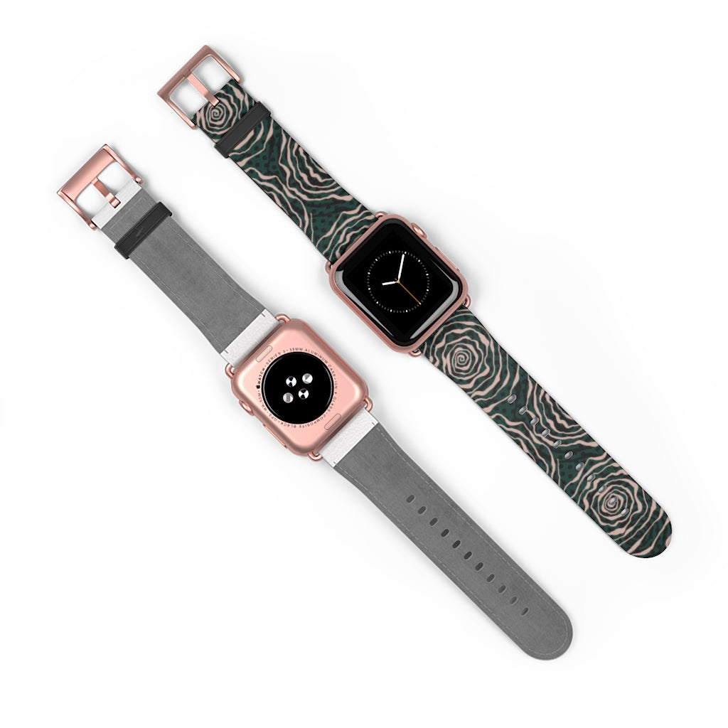 Green Roses Apple Watch Band