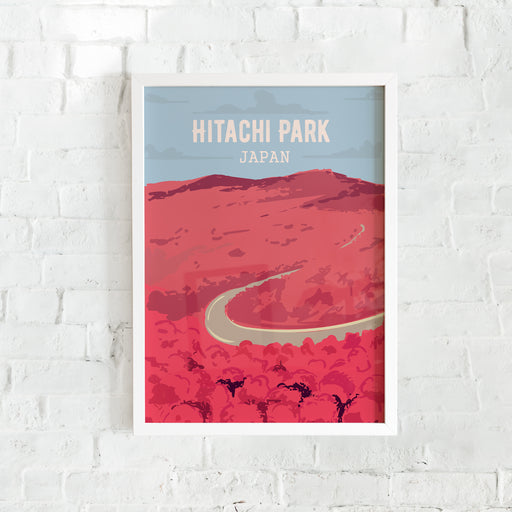 Hitachi Park - Japan Travel Poster