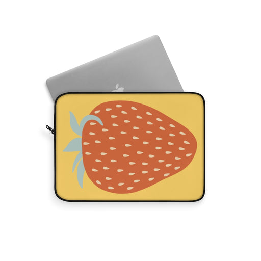 RETRO STRAWBERRY LAPTOP SLEEVE