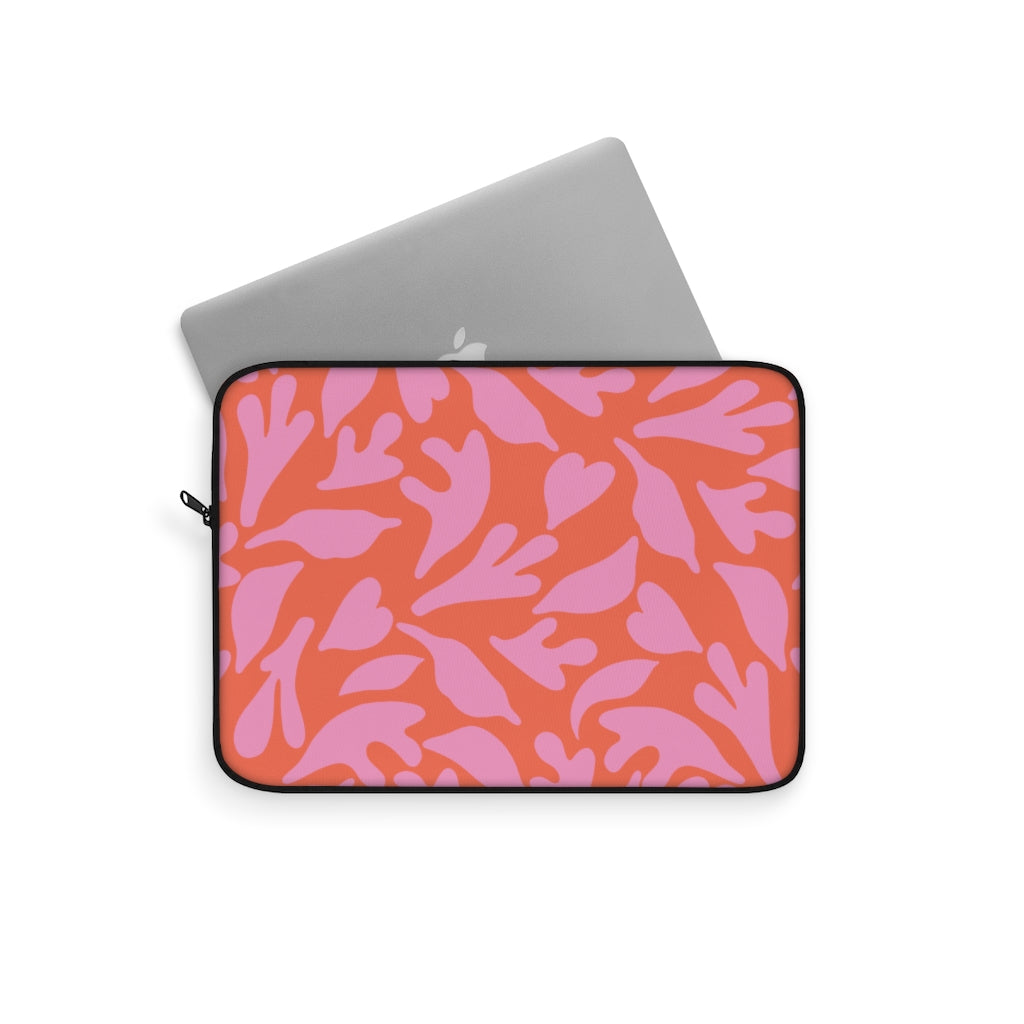 CUT OUTS FLORAL V2 LAPTOP SLEEVE
