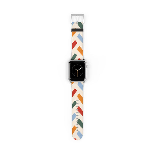 Retro Striped Apple Watch Band
